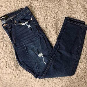 Express Mid Rise jean legging